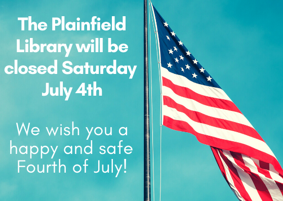 Library Closed for the July 4th Holiday