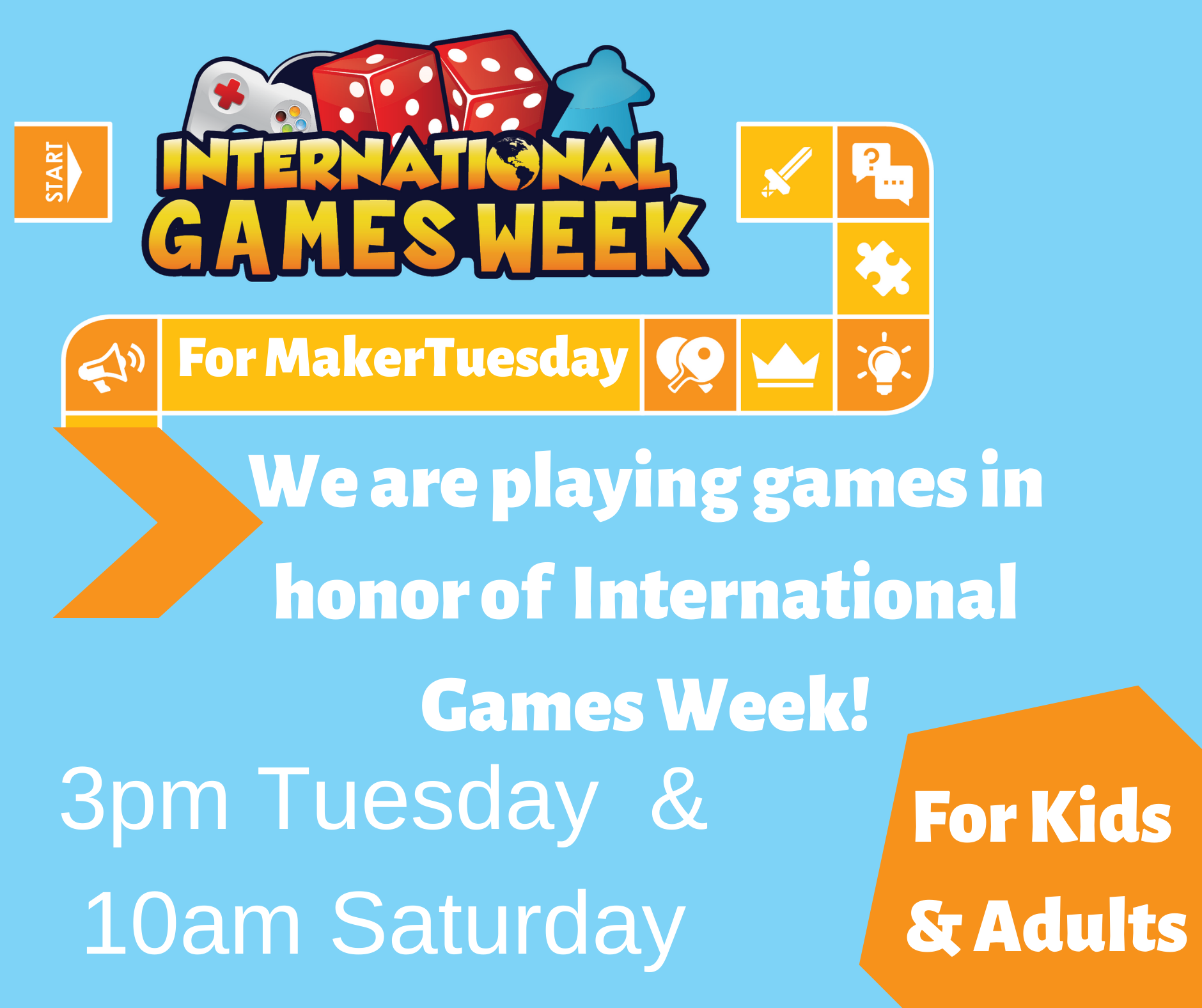 MakerTuesday -Games!